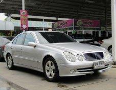 MERCEDES-BENZ E240 Elegance รถเก๋ง 4 ประตู ราคาที่ดี