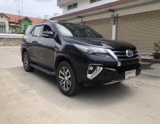 2016 All New Toyota Fortuner 2.8 V 4WD suv สีดำ