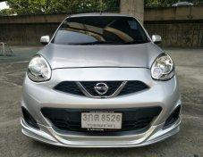 ขายรถ Nissan MARCH 1.2E hatchback ปี 2014 สีเทา