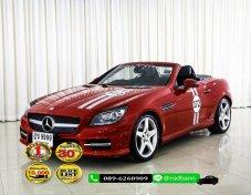 2012 Mercedes-Benz SLK200 1.8 Sport ฟรีดาวน์