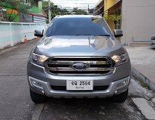 Ford Everest 2.2 Titanium ปี16 สีเทา รถบ้านแบบครอบครัว7ที่นั่งกว้างนั่งสบายขับดีไม่มีอุบัติเหตุเครื่องดีแอร์เย็นเกียร์ช่วงล่างแน่นพร้อมใช้งาน