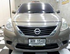 Nissan Almera1.2E ปี2012 รถบ้าน เทิร์นป้ายแดง พร้อมใช้ ฟรีดาวน์ครับ