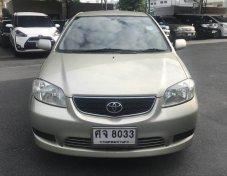 2004 Toyota VIOS E IVORY sedan