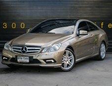 Mercedes Benz E350 CDi AMG Coupe Panoramic Roof 2011