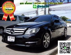 MERCEDES BENZ C180 W204 COUPE AMG SPORT AT 2012