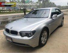 รถสวย ใช้ดี BMW 730Li รถเก๋ง 4 ประตู