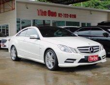 2012 BENZ E200 CGI Coupe AMG Dynamic full option