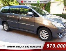 Toyoya Innova 2.0G ปี 2015