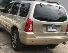 ด่วน สวยขั้นนางฟ้า ตัดสด ราคา 190,000 บาท  ยี่ห้อรถ Mazda รุ่น Tribute ปีที่ผลิต2004 ระบบเกียร์อัตโนมัติ สีดำ ประเภทรถ Wagon