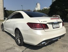 Benz E200 Coupe Facelift AMG Package W207 ปี 2014 สีขาว