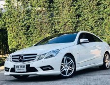 2012 BENZ E250 CDI COUPE AMG PACKAGE