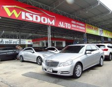 2012 MERCEDES-BENZ E250 CDI รับประกันใช้ดี