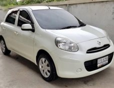 2013 NISSAN MARCH รับประกันใช้ดี