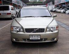 VOLVO S80 2.0T ปี05 รถบ้านสภาพสวยมีเสน่ห์ขับดีไม่มีอุบัติเหตุเจ้าของใช้รักษาตลอด
