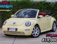 Volkswagen Beetle Cabriolet ปี 2003