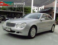 2003 MERCEDES-BENZ E220 CDI Elegance รถเก๋ง 4 ประตู
