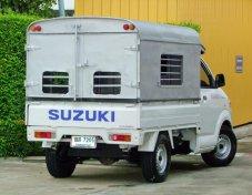 Suzuki Carry ปี2013 มือแรก ไมล์แท้แสนสี่หมื่นโล บรรทุกของเบา ไม่เคยชน ไม่เคยทำสี ไม่เคยเสริมแหนบ เครื่องแน่น เกียร์ไม่หอน คลัชนุ่ม ช่วงล่างแน่น พ.พาวเวอร์ แก๊สLPGโรงงาน สภาพใหม่มาก ราคา 198,000.-