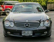 Mercedes Benz SL350 R230 SL350 ปี2004 สีดำ วิ่งน้อยมาก 3x,xxx โล