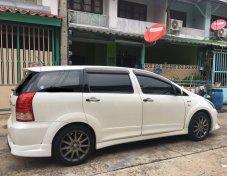 Toyota รุ่น Wish 2.0 Sport Touring III ST3 สีขาวมุก