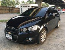 Chevrolet Sonic 1.4LTZ รุ่นTOP ปี 2013 สีดำ รถมือเดียว ไมล์แท้ สภาพนางฟ้า