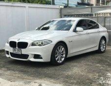 BMW 520d F10 ดีเซล สีขาว ปี 2012