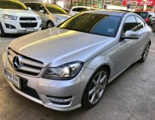 Benz ปี 2012 รุ่น C180 BlueEFFICIENCY W204 AMG Coupe