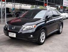 Lexus RX270 2.7 Luxury ปี2011 สีดำ