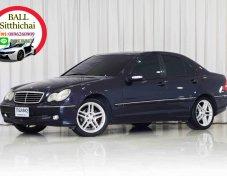 2001 Mercedes-Benz C200 2.0 Kompressor Elegance sedan