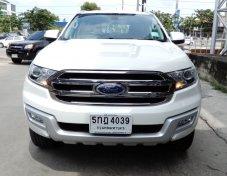 2016 Ford Everest  2.2 Titanium suv auto สีขาว ฟรีดาวน์