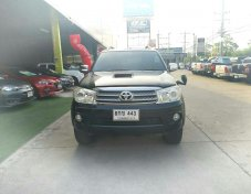 TOYOTA FORTUNER 3.0 V 4WD ปี2010 suv