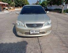 Toyota Vios 1.5 S 2004 เกียร์ออโต้ สีบรอนทอง