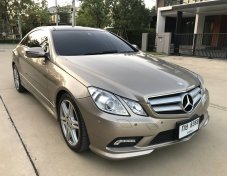 2010 Mercedes-Benz E250 AMG 2.0 Turbo 204 hp