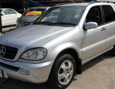 2002 BENZ ML-CLASS,ML320
