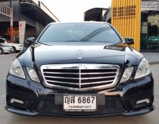BENZ E250 CGI AMG PACKAGE สีดำ ปี 2011