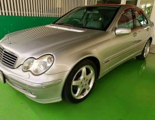2004 MERCEDES-BENZ C200 สภาพดี
