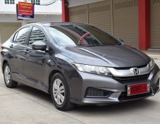 Honda City 1.5 (ปี 2015) S CNG Sedan AT