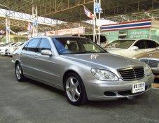 2005 MERCEDES-BENZ S280 รถเก๋ง 4 ประตู สวยสุดๆ
