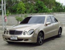 ขายรถ MERCEDES-BENZ E200 Kompressor Elegance 2003 รถสวยราคาดี