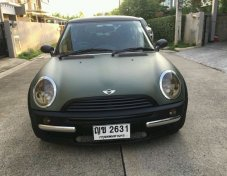 2002 Mini Cooper 2Dr coupe