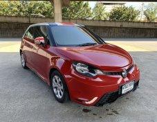 MG3 1.5D ปี 2015 สีแดง รถมือเดียวออกห้าง สภาพเดิมๆ เอกสารพร้อมโอน