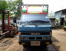 ISUZU NKR รถห้างแท้ตู้บรรทุก3บาน