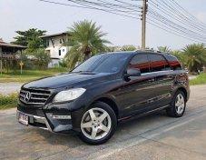 2013 Benz ML 250 cdi Bluetech W166  Exclusive สีดำ