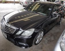 2011 Mercedes-Benz E250 CDI AMG sedan