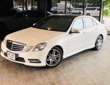 benz  E220 cdi 2012 สีขาว