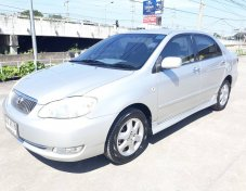 Toyota Altis G ปี 2006 เครื่อง 1.6 AT Airbag ABS