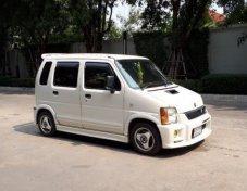 รถสวย ใช้ดี SUZUKI WAGON R wagon