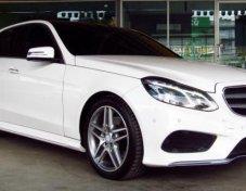 ขายรถ MERCEDES-BENZ E200 CGI AMG 2014 ราคาดี