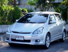 ขาย Toyota Wish 2.0Q ปี 04 แถมทะเบียนสวย เลขตองท้าย