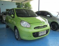2010 NISSAN MARCH รับประกันใช้ดี