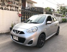 2014 NISSAN MARCH รับประกันใช้ดี